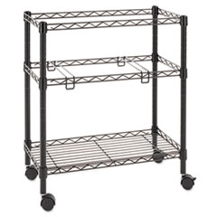 ALEFW601426BL - Alera® Rolling File Cart