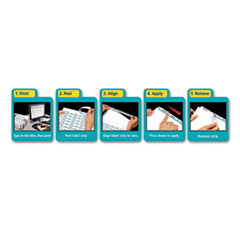 AVE11580 - Avery® EcoFriendly Index Maker® Label Dividers, Clear