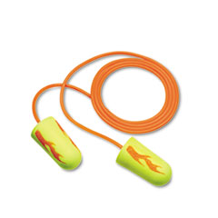 MMM3111252 - EAR® EARsoft™ Yellow Neon Blasts™ Soft Foam Ear Plugs