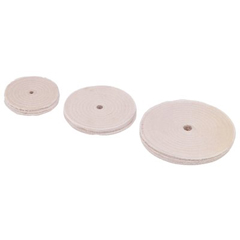 BLE110-A65 - Baldor ElectricSewed Cotton Buffing Wheels