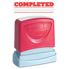 NSN2074111 - AbilityOne™ Pre-Inked Message Stamp