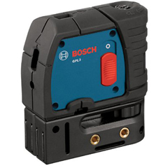BPT114-GPL3 - Bosch Power Tools3-Point Self-Leveling Alignment Lasers