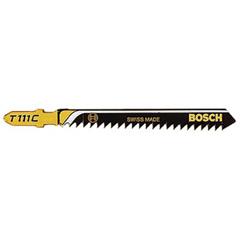 BPT114-T111C - Bosch Power ToolsHigh Carbon Steel Jigsaw Blades