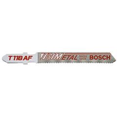 BPT114-T118AF - Bosch Power ToolsBi-Metal Jigsaw Blades