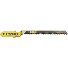 BPT114-T119BO - Bosch Power ToolsHigh Carbon Steel Jigsaw Blades