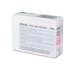 EPST580B00 - Epson T580B00 UltraChrome K3 Ink, Vivid Light Magenta