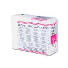 EPST580A00 - Epson T580A00 UltraChrome K3 Ink, Vivid Magenta
