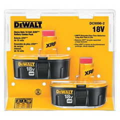 DEW115-DC9096-2 - DeWaltXRP™ Rechargeable Battery Packs