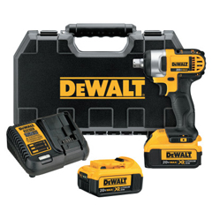 DEW115-DCF880M2 - DeWalt20V MAX High Torque Impact Wrench Kit, 1/2 In, 1,500 RPM, W/Charger, Case