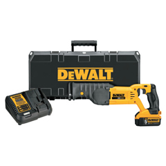 DEW115-DCS380P1 - DeWalt20V MAX Lithium Ion Reciprocating Saw Kit, 5 A-H Lithium-Ion, 1 1/8 In Stroke L