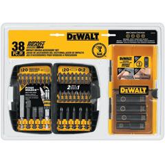 DEW115-DW2169 - DeWaltImpact Ready® 38 Pc. Accessory Kits