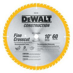 DEW115-DW3106 - DeWaltConstruction Miter/Table Saw Blades