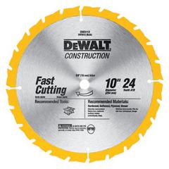DEW115-DW3112 - DeWaltConstruction Miter/Table Saw Blades