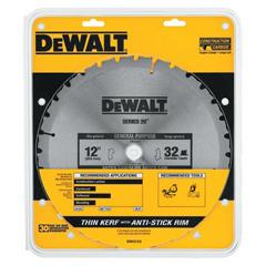 DEW115-DW3123 - DeWaltConstruction Miter/Table Saw Blades