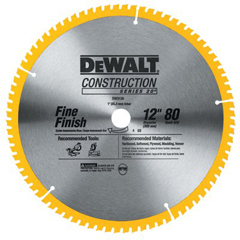 DEW115-DW3128 - DeWaltConstruction Miter/Table Saw Blades