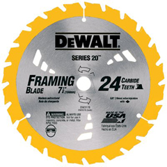 DEW115-DW3178 - DeWaltPortable Construction Saw Blades