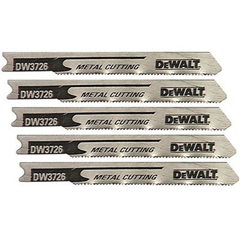 "DEW115-DW3726-5 - DeWalt""U"" Shank Metal Cutting Jig Saw Blades"