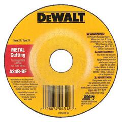 DEW115-DW4548 - DeWalt - Type 27 Depressed Center Wheels