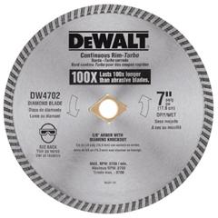 DEW115-DW4702 - DeWaltContinuous Rim Diamond Blades
