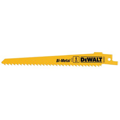 DEW115-DW4846 - DeWaltBi-Metal Reciprocating Saw Blades