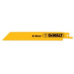 DEW115-DW4806 - DeWaltBi-Metal Reciprocating Saw Blades