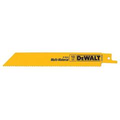 DEW115-DW4806B25 - DeWaltBi-Metal Reciprocating Saw Blades