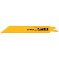 DEW115-DW4813B25 - DeWaltMetal Cutting Reciprocating Saw Blades