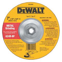 DEW115-DW4999 - DeWaltType 27 Depressed Center Wheels