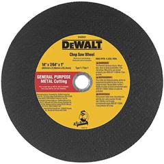 DEW115-DW8010 - DeWaltType 1 - Cutting Wheels