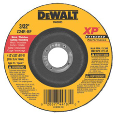 DEW115-DW8805 - DeWaltExtended Performance Type 27 Depressed Center Wheels