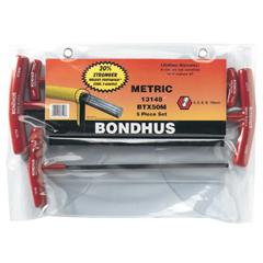 BON116-13148 - BondhusBalldriver® T-Handle Hex Key Sets