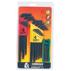 BON116-14132 - BondhusBalldriver® L-Wrench and Fold-Up Set Combinations