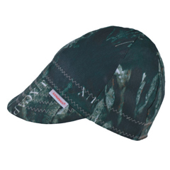 CMC118-2000ECAM - Comeaux CapsDeep Round Crown Caps, One Size Fits All, Camouflage