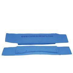 CMC118-93000 - Comeaux CapsCooling Sweatbands, Blue, 2PK/EA