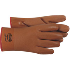 BSS121-1SP3610 - BossBrown PVC Coated Gloves - Large