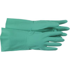 BSS121-1UH0027L - BossFully Coated Green Nitrile Gloves