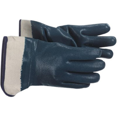 BSS121-1UH7365L - BossJersey Lined Nitrile Coated Gloves - Large