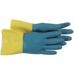 BSS121-1UN0055-10 - BossFlock Lined Neoprene/Latex Coated Gloves