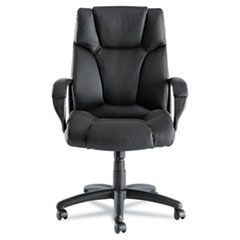 ALEFZ41LS10B - Alera® Fraze Executive High-Back Swivel/Tilt Leather Chair
