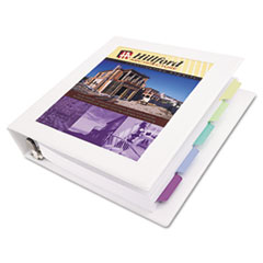 AVE68041 - Avery® Framed View Binder with Gap Free™ Slant Rings