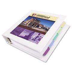 AVE68036 - Avery® Framed View Binder with Gap Free™ Slant Rings