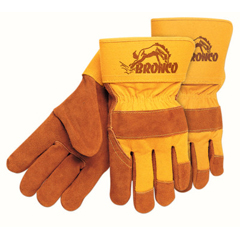 CRW127-1680 - Memphis GlovePremium Side Split Cow Gloves, Large, Select A Side Leather