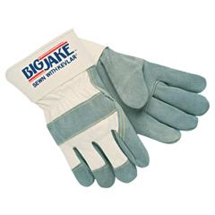 CRW127-1700L - Memphis Glove - Heavy-Duty Side Split Gloves, Large, Leather