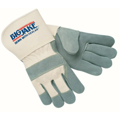 CRW127-1710L - Memphis GloveHeavy-Duty Side Split Gloves, Large, Leather