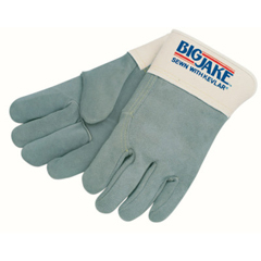 CRW127-1717 - Memphis GloveHeavy-Duty Side Split Gloves, X-Large, Leather