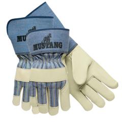 CRW127-1936L - Memphis GloveMustang Premium Grain-Leather Gloves, Large, Grain Cowhide