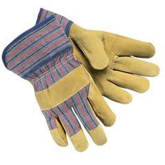 MMG127-1950L - Memphis GloveGrain Leather Palm Gloves, Large