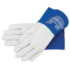 CRW127-4850M - Memphis GloveMig/Tig Welders Gloves, Premium Grade Grain Goatskin, Medium