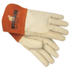 CRW127-4950L - Memphis GloveMig/Tig Welders Gloves, Premium Grade Grain Goatskin, Large, Beige