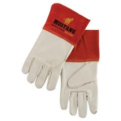 CRW127-4950XL - Memphis GloveMig/Tig Welders Gloves, Premium Grain Cowhide, X-Large, Beige